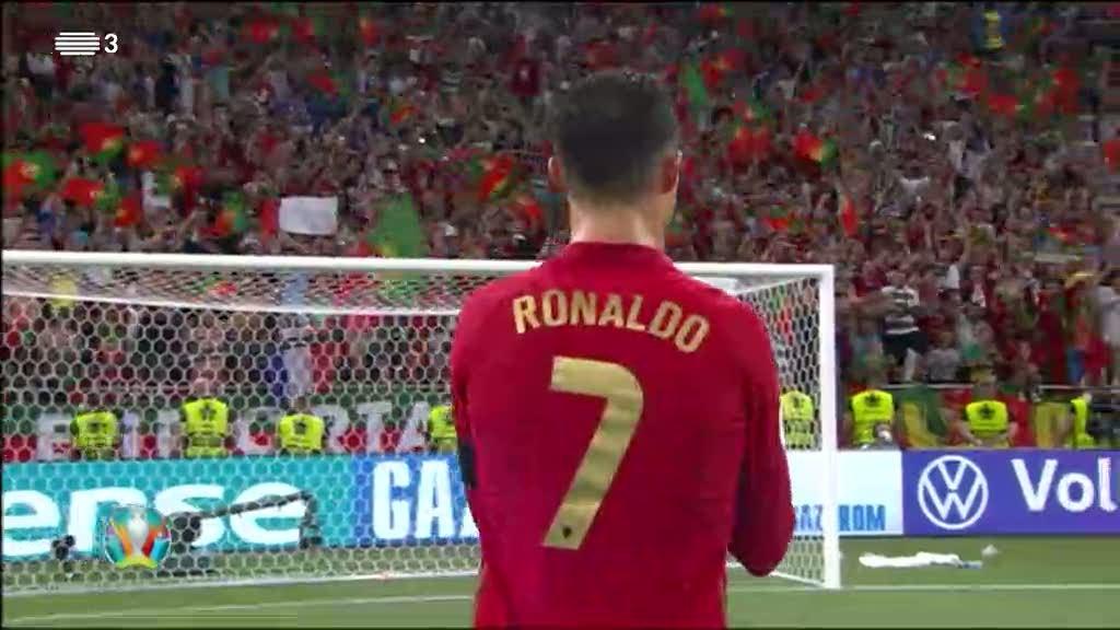 Euro2020. Portugal nos oitavos depois de empatar com a França. Veja o resumo alargado da partida