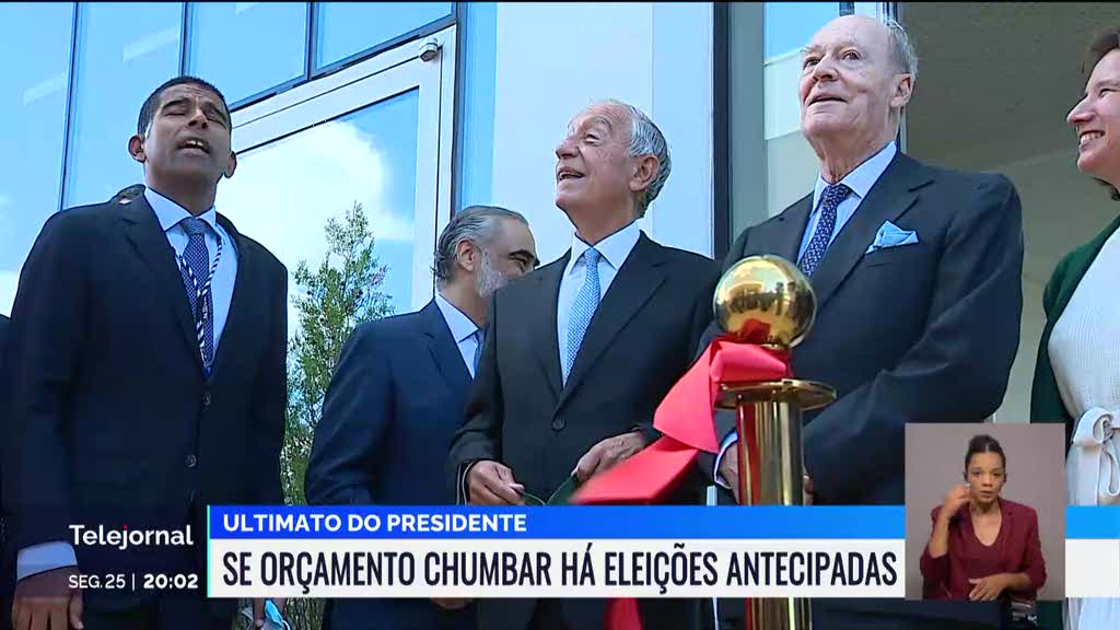 Marcelo categórico: ou aprovação do OE 2022 ou antecipação das eleições