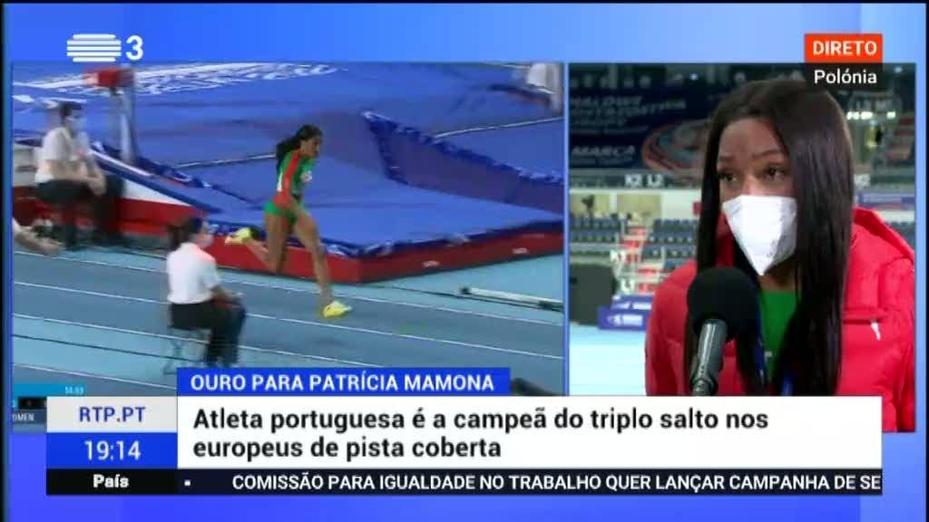 Três medalhas portuguesas no europeu de atletismo