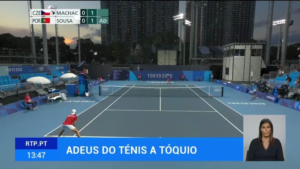 Termina a participação portuguesa no ténis em Tóquio