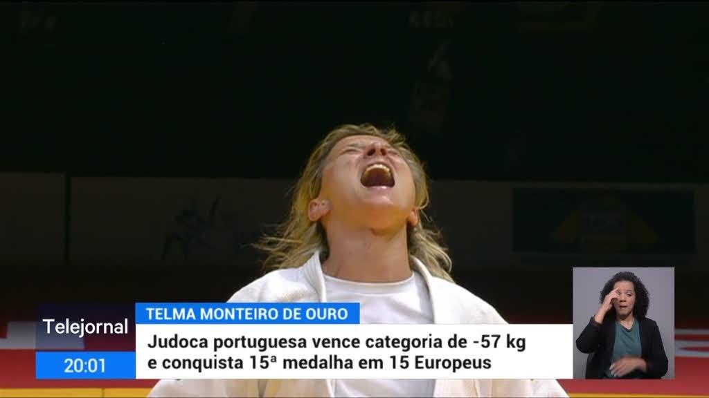 Judo. Ouro para Telma Monteiro