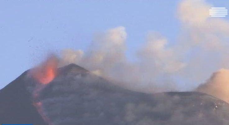 Resultado de imagem para o vulcao etna 2017