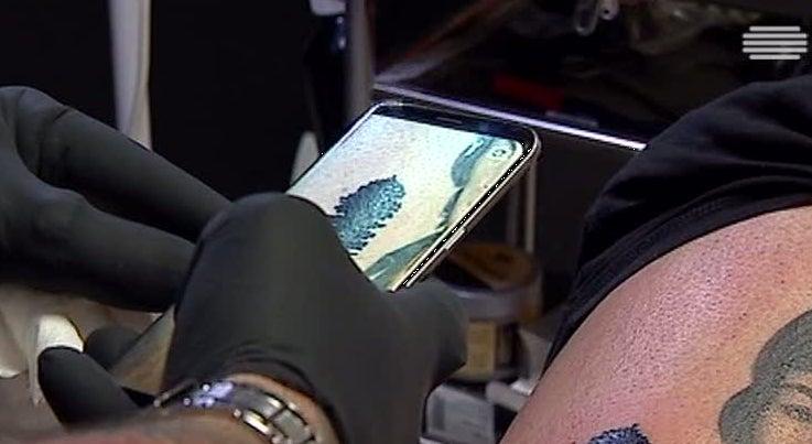 Image result for Nova técnica de tatuagem permite gravar sons na pele
