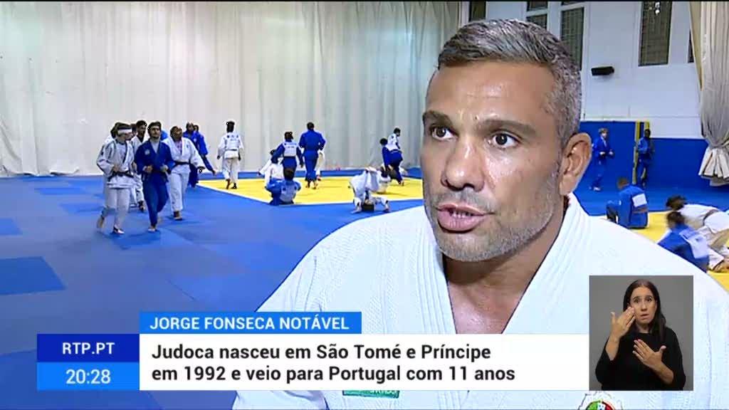Treinador de Jorge Fonseca salienta talento e esforço do judoca