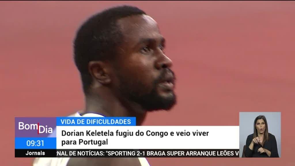 Dorian Keletela. Do Congo para os Jogos Olímpicos