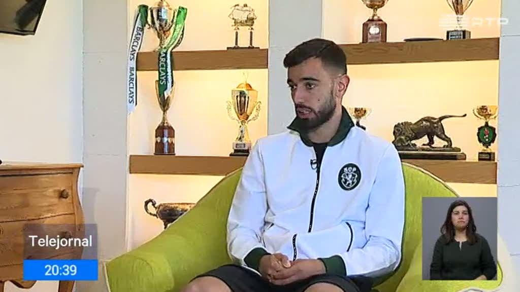 Venda de Bruno Fernandes será a transferência mais cara do Sporting