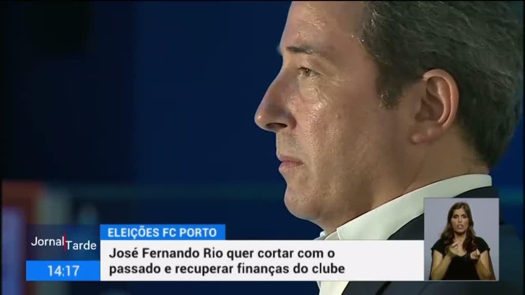 José Fernando Rio apresentou candidatura à presidência do FC Porto