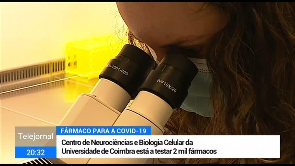 Investigadores de Coimbra avaliam medicamentos contra a covid-19