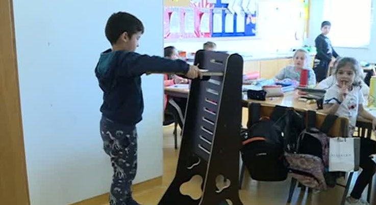 Móveis para hiperativos. Escola desenvolve projeto inovador para ajudar alunos