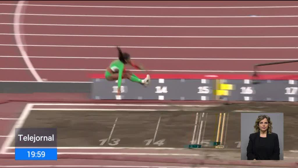 Prata para Portugal no triplo salto nos Jogos Olímpicos