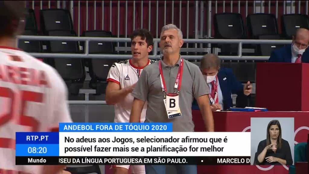 Jogos Olímpicos. Seleção de andebol assume desilusão