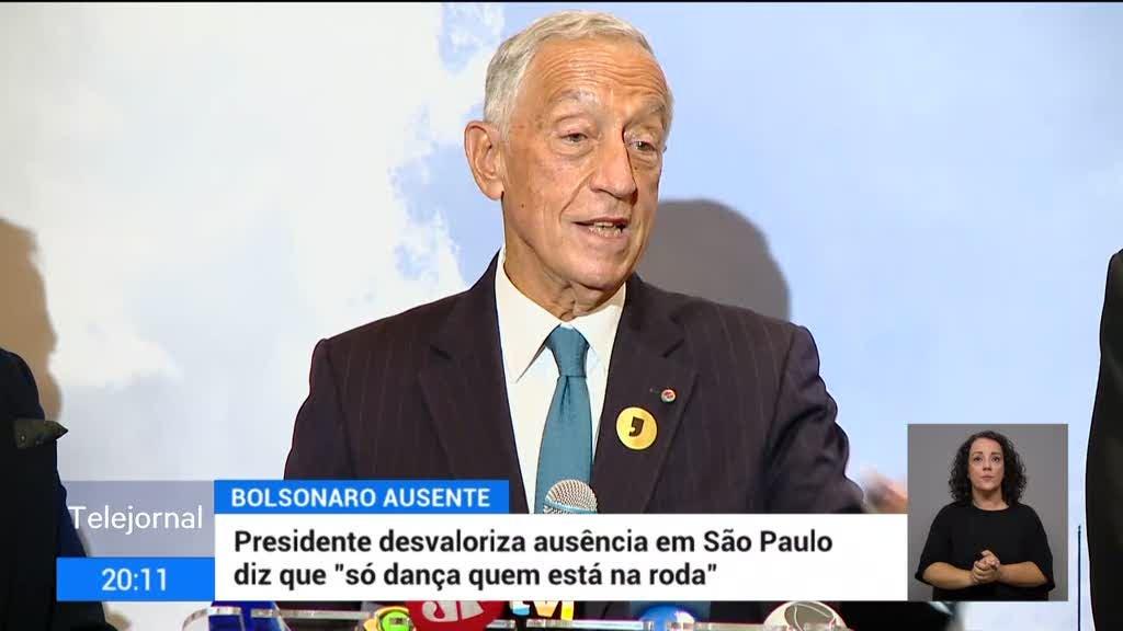 """Marcelo desvaloriza ausência de Bolsonaro: """"Só dança quem está na roda"""""""