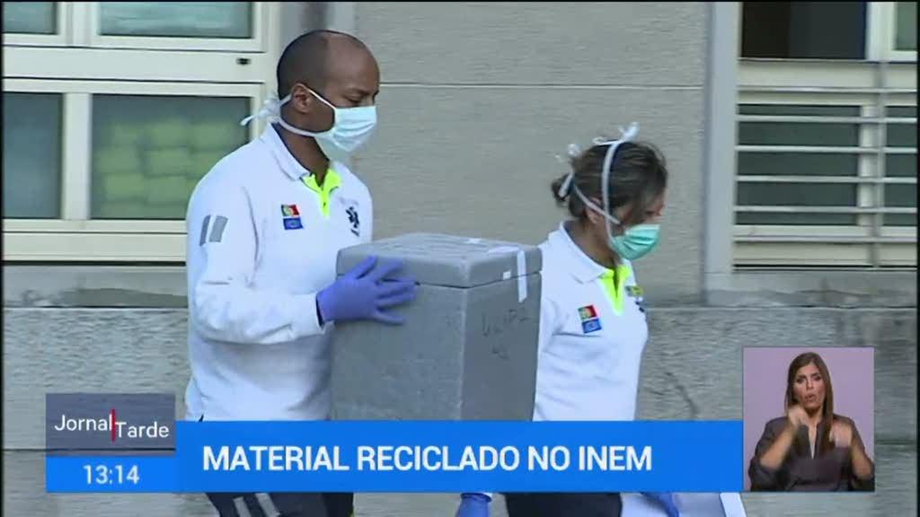 Técnicos do INEM estão a trabalhar sem material adequado