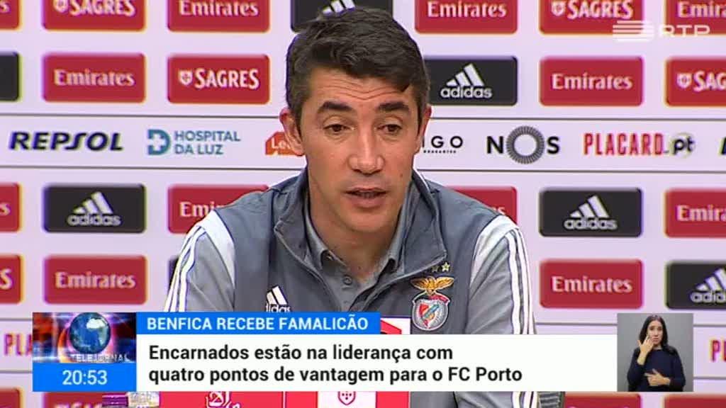 Benfica defronta Famalicão este sábado