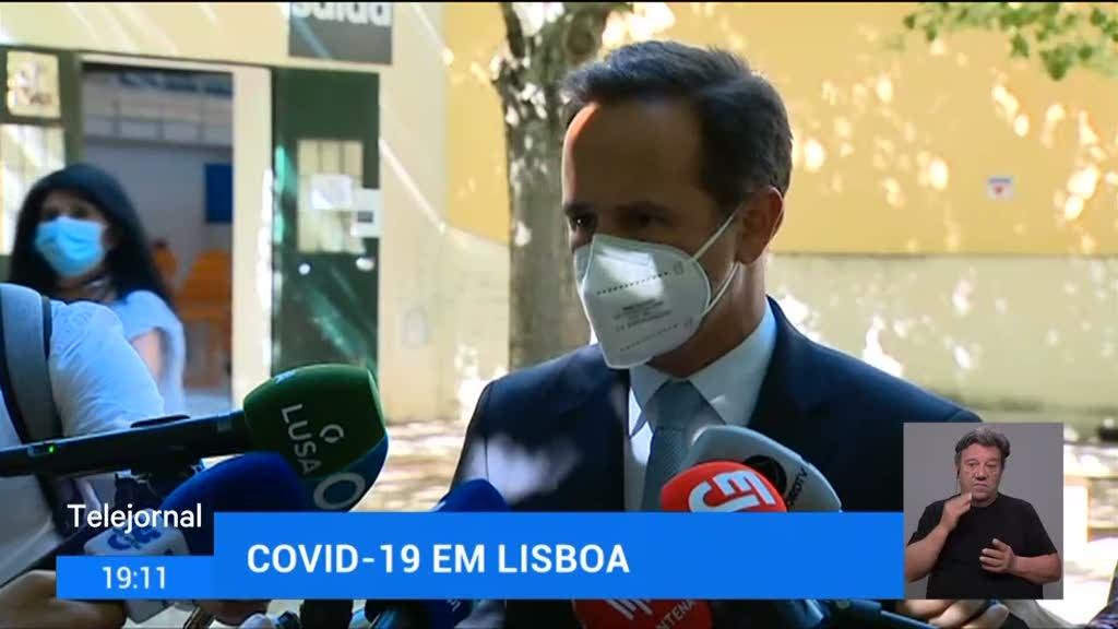 Lisboa prepara marcha-atrás no desconfinamento