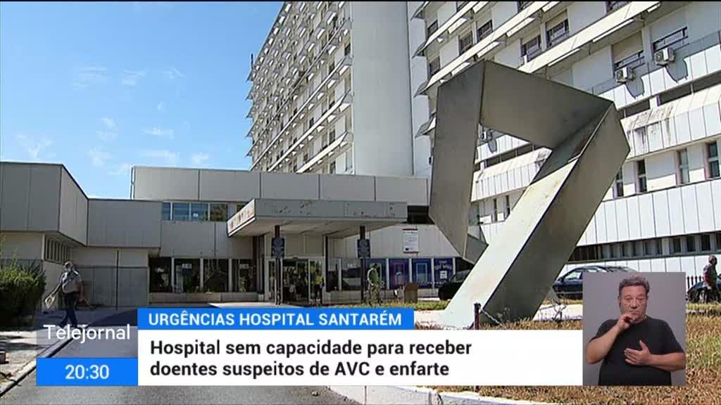 Urgências de Santarém sem resposta a casos suspeitos de AVC e enfarte