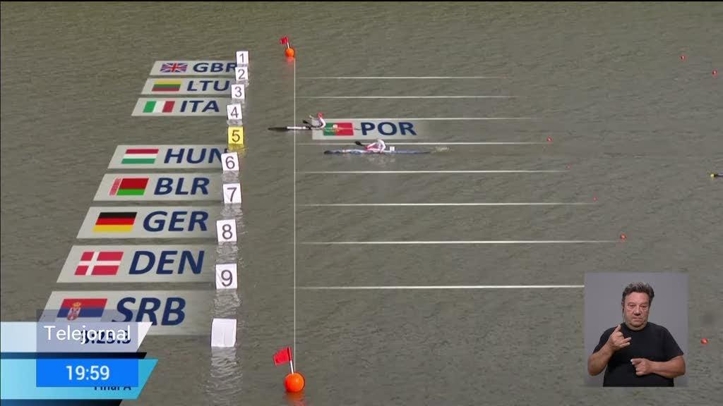 Fernando Pimenta campeão do Mundo em K1 1000 metros