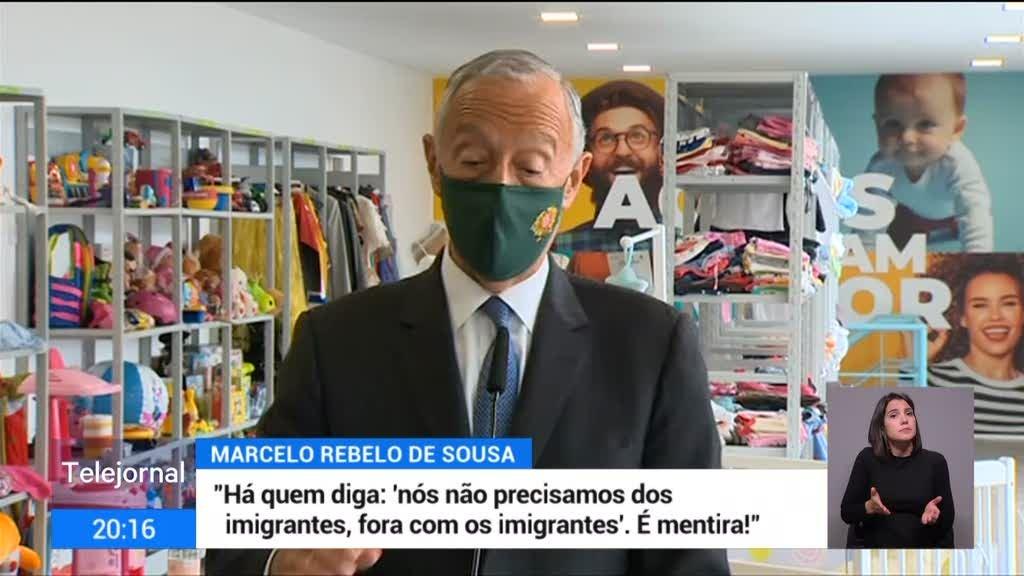 Marcelo avisa que não se pode ignorar o que acontece em Odemira