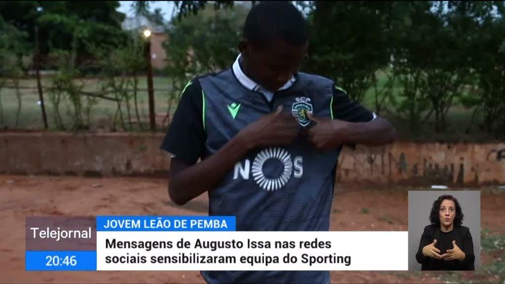 Pemba. Mensagens de Augusto Issa nas redes sociais sensibilizaram equipa do Sporting