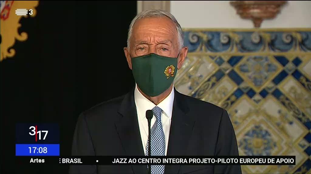 """Marcelo sobre racismo e atletas. """"Portugal é grande quando consegue integração"""""""