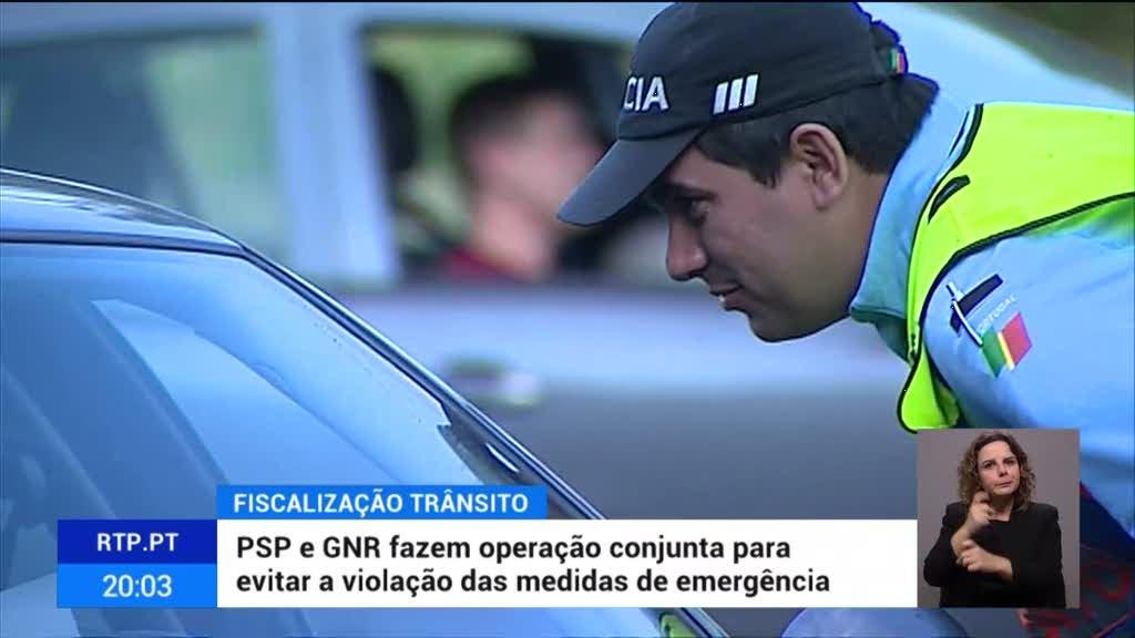 Ponte 25 de abril encerrada em ação de sensibilização de automobilistas