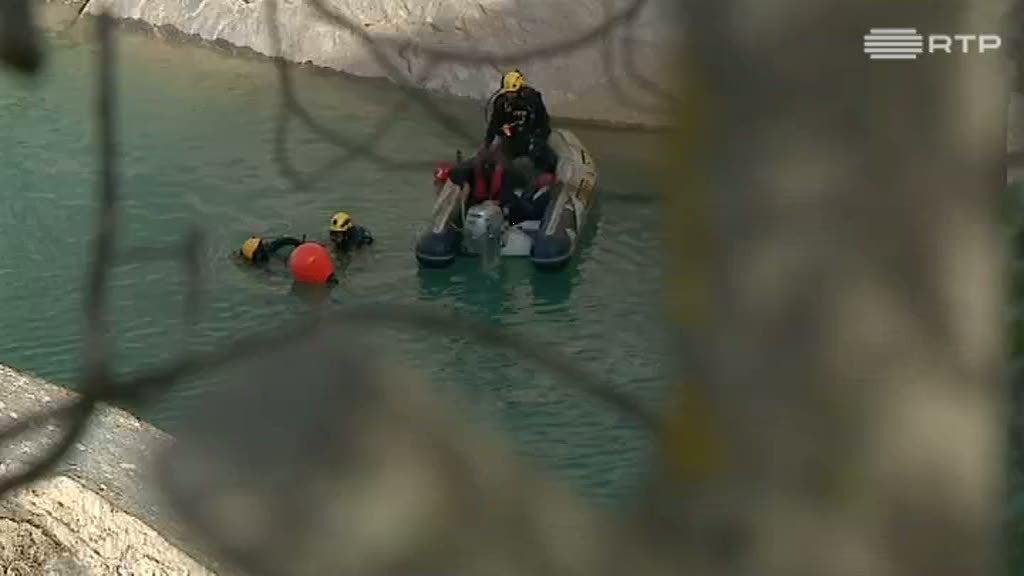 Localizado corpo do homem que caiu numa pedreira em Vila Viçosa - RTP
