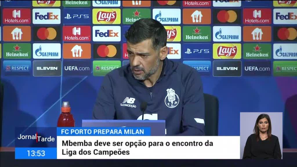Mbemba já está a treinar com o plantel do Porto