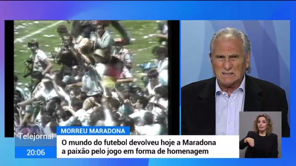 Manuel José recorda Diego Armando Maradona