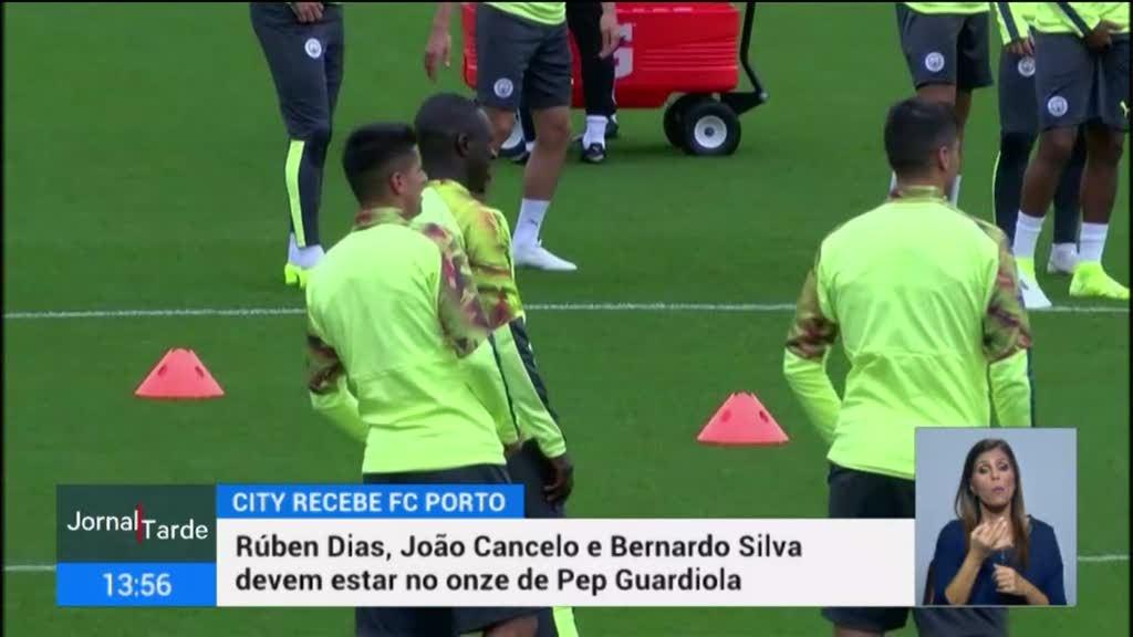 LC. Manchester City prepara receção ao FC Porto