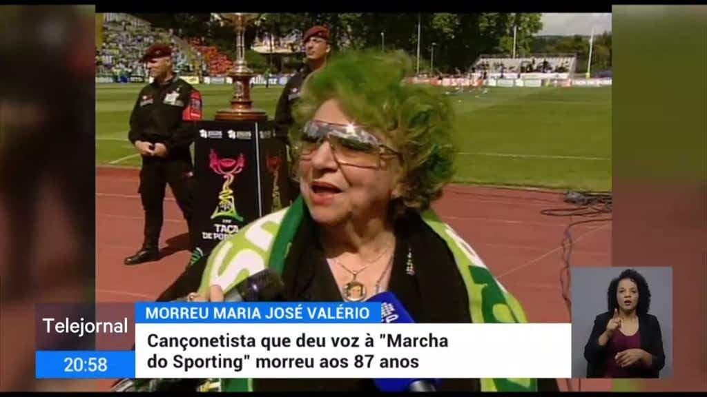 Maria José Valério morreu aos 87 anos com Covid-19