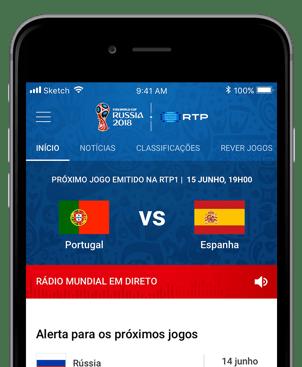 App Mundial 2018