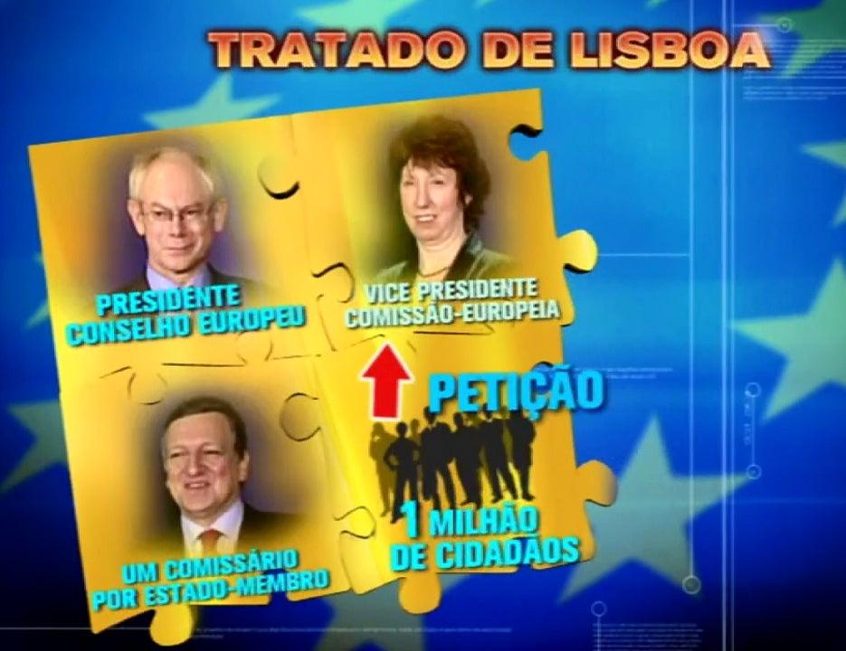 Tratado de Lisboa assinado em 2007