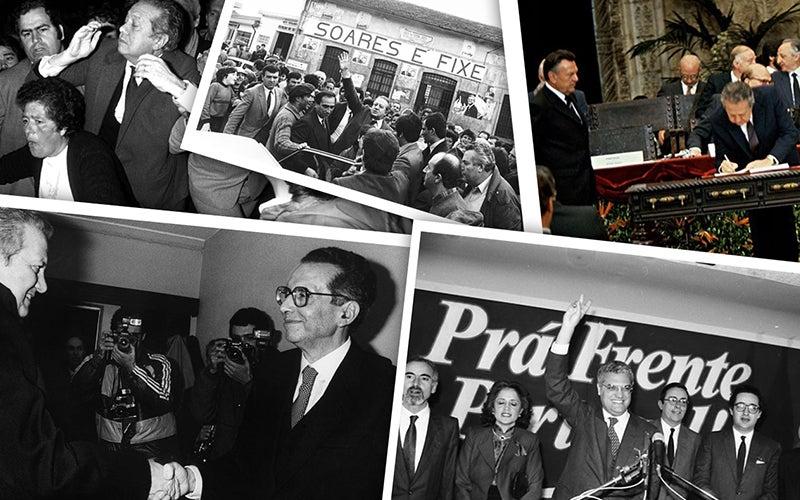 memoria das presidenciais - 1986