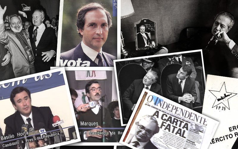 memoria das presidenciais - 1991