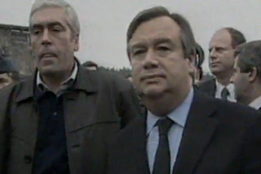 António Guterres em Castelo de Paiva