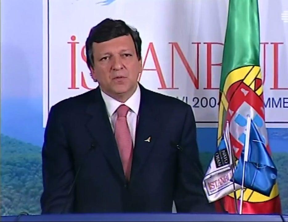 Durão Barroso, dez anos à frente da Comissão Europeia