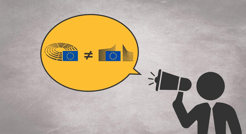 Qual a diferença entre Parlamento e Comissão Europeia?