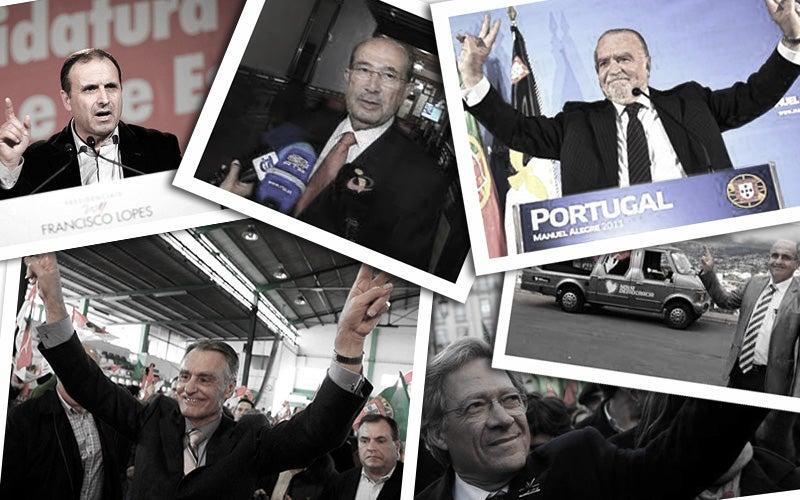 memoria das presidenciais - 2011