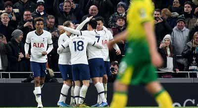 Tottenham de Mourinho sofre para vencer lanterna-vermelha Norwich por 2-1
