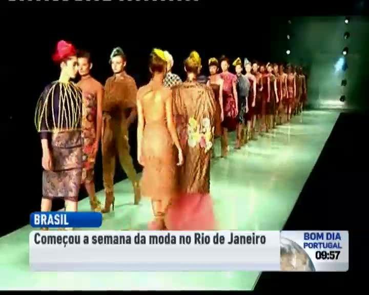 Começou a Semana da Moda do Rio de Janeiro - Cultura - RTP Notícias 7c2ffa1825