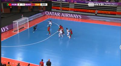 Futsal/Mundial: Bebé faz balanço positivo de Portugal na fase de grupos