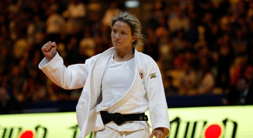 Telma Monteiro defende um lugar no pódio conquistado no Rio2016
