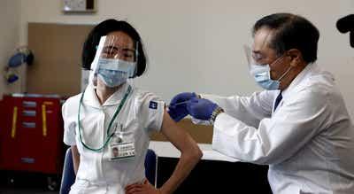 Tóquio2020. Organização e voluntários começam a ser vacinados