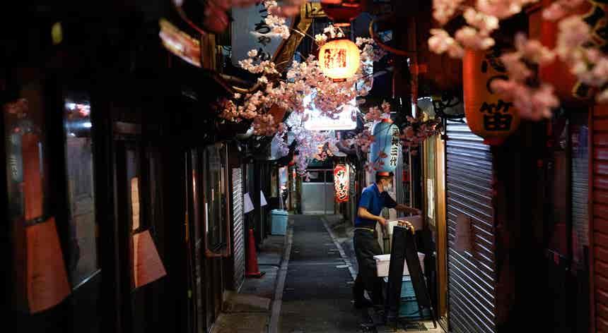 Cai o estado de emergência no Japão