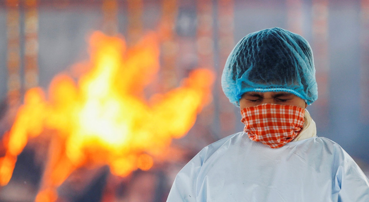 Nova Deli. Crematório | Adnan Abidi - Reuters