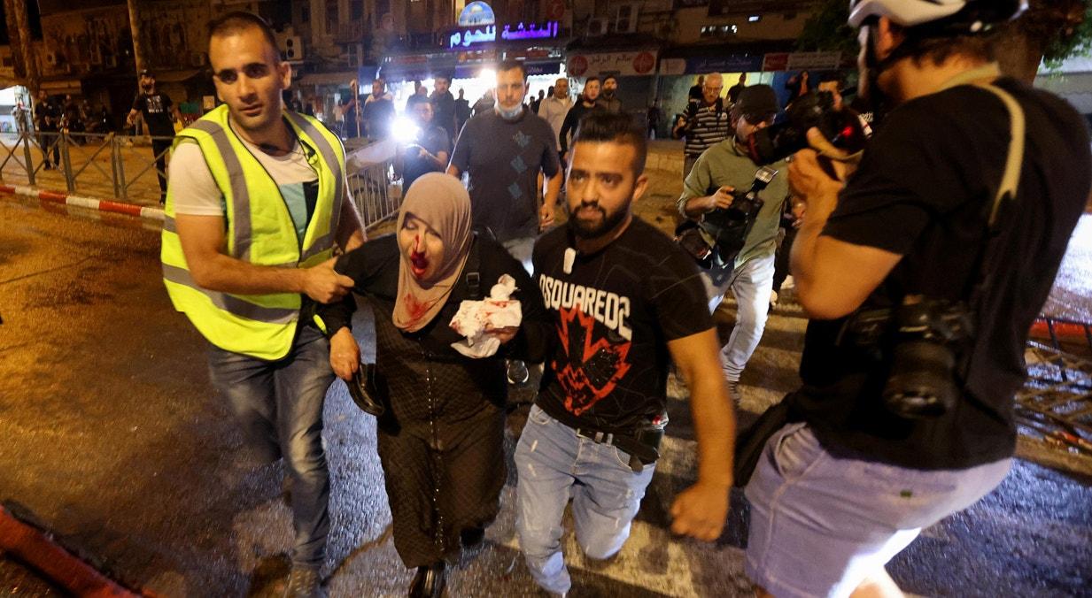 Israel. Confrontos em Jerusalém, perto da Porta de Damasco | Ronen Zvulun - Reuters