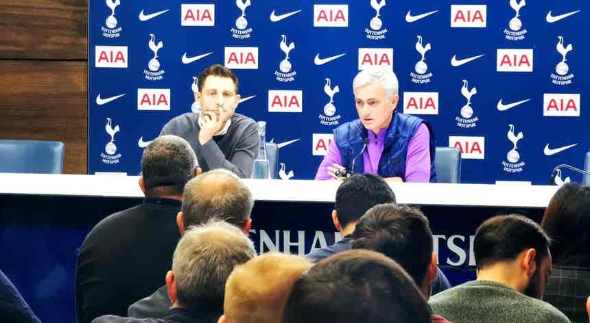 Premier League. José Mourinho apresentado no Tottenham
