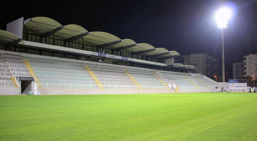 O cenário estás pronto para receber o primeiro jogo da época 2021-2022