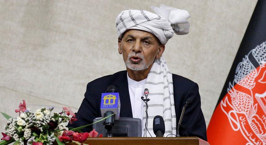 Ashraf Ghani, Presidenye do Afeganistão, ao Parlamento afegão a 02 de agosto de 2021
