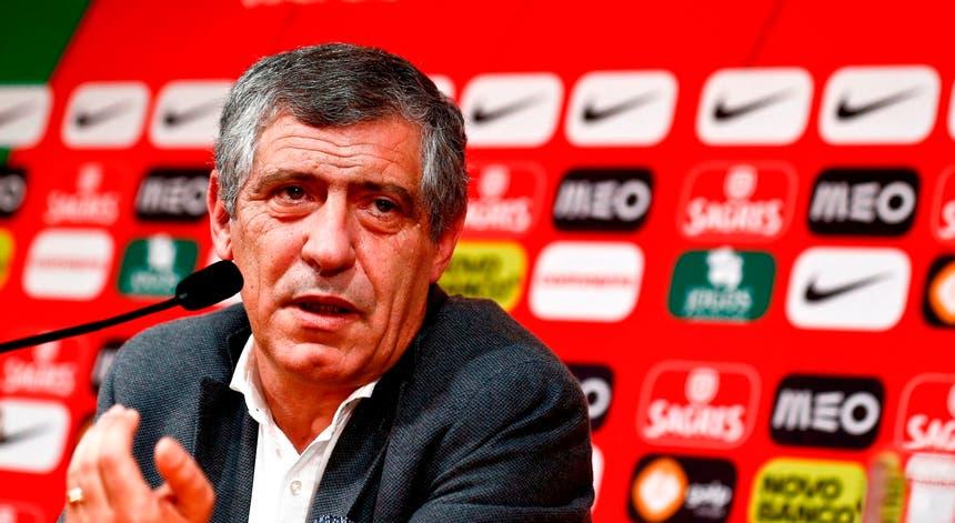 Fernando Santos revelou os nomes dos jogadores que vão discutir a vitória na Liga das Nações